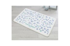 Набор ковриков для ванной Marie Claire - Delight mavi (57*57+57*100)