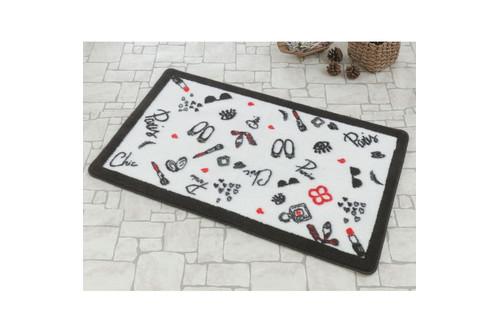 Набор ковриков для ванной Marie Claire - Miss siyah черный (57*57+57*100)