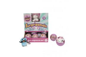 Мягкая игрушка-сюрприз в шаре SURPRIZAMALS S3