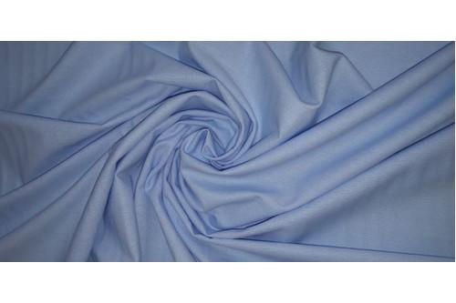 Фланель однотонная,голубая 220 см.